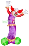 9 1/2' Air Blown Animated Inflatable Giant Clown