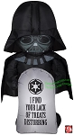 3 1/2' Gemmy Airblown Inflatable Star Wars Darth Vader w/ Tombstone