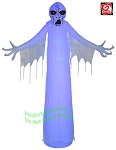12' Airblown Inflatable LightShow Short Circuit Ghostly Ghoul