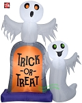 7' Gemmy Airblown Inflatable Ghosts On