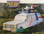 9' Air Blown Inflatable Ghostbusters Ectomobile Ecto-1 Inflatable