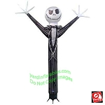 12' Gemmy Airblown Inflatable JIGGLER Jack Skellington Air Dancer