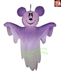 4' Gemmy Airblown Inflatable Halloween Hanging Disney Mickey Mouse as Ghost