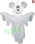 4' Gemmy Airblown Inflatable Hanging Mickey Mouse As A Ghost