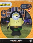 6' Gemmy Airblown Inflatable Halloween Pirate Minion w/ Sword