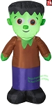 4' Gemmy Airblown Inflatable Frankenstein Monster