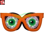 6' Gemmy Airblown Inflatable Kaleidoscope Evil Eyes w/ ORANGE Glasses