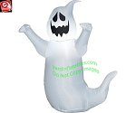 3 1/2' Gemmy Airblown Inflatable Scary Ghost