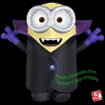 8' GIANT Halloween Batty Minion