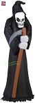 5' Gemmy Airblown Inflatable Grim Reaper w/ Sickle