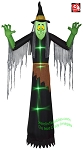 12' Gemmy Airblown Inflatable Short Circuit Witch