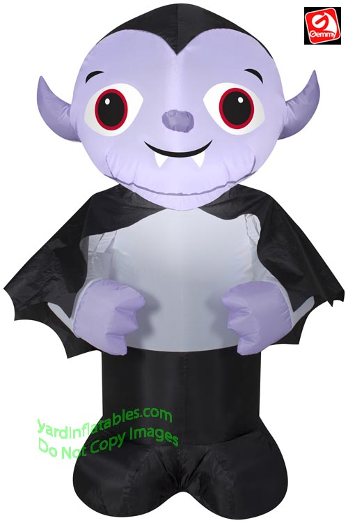 4' Gemmy Airblown Inflatable Halloween Vampire