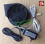 Gemmy Replacement 1 5a Fan With 12v/1 5a Adapter
