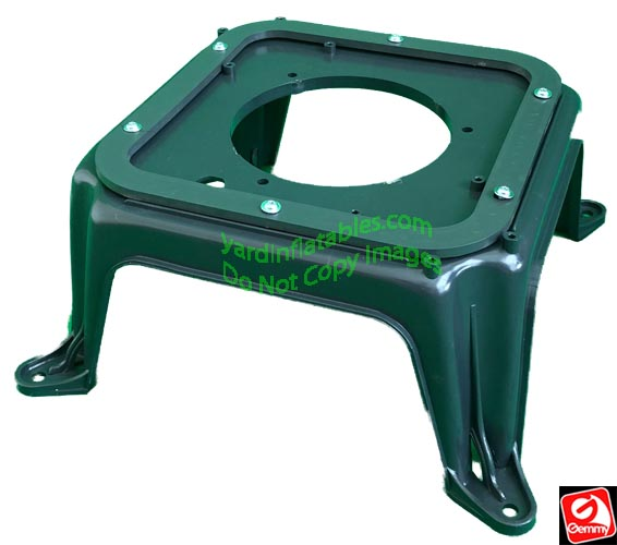 Gemmy Replacement SOLID Plastic Base (NO FOLDING LEGS)
