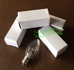 5 - c7- 5 watt FLASHING bulbs