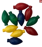 Replacement Color Light Bulb Covers for Gemmy Airblown Inflatables