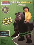 Inflatable Gorilla Costume Adult