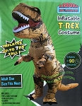Inflatable T-Rex Costume Adult