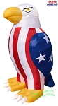 5' Air Blown Inflatable Patriotic Bald Eagle