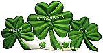 12' Inflatable St. Patrick's Shamrock Patch