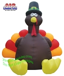 11' Air Blown Inflatable Giant Thanksgiving Turkey