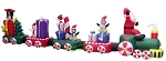 20' Air Blown Inflatable Christmas Train
