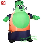 3 1/2' Gemmy Airblown Inflatable Frankenstein Monster With Big Chin