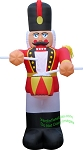 20' Inflatable Nutcracker Drummer