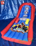 4' Inflatable Power Rangers Skee Ball Toss Game