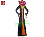 12' Gemmy Airblown Inflatable Projection PHANTASM Pumpkin Reaper