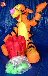3 1/2' Tigger Apple Toss Game