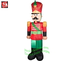 7' Gemmy Airblown Inflatable Christmas Toy Soldier