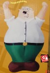 4' Gemmy Airblown Inflatable Peter Griffin from Family Guy