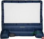 12' Gemmy Airblown Inflatable Movie Screen DELUXE