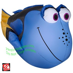 "3 1/2' Inflatable Dory From ""Finding Dory"""