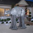 9' Star Wars AT-AT Walker w/ Christmas Lights