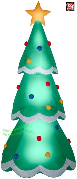 14' Airblown Inflatable Colossal Christmas Tree