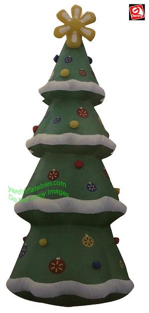 Inflatable Christmas Tree.20 Airblown Inflatable Colossal Walmart Christmas Tree