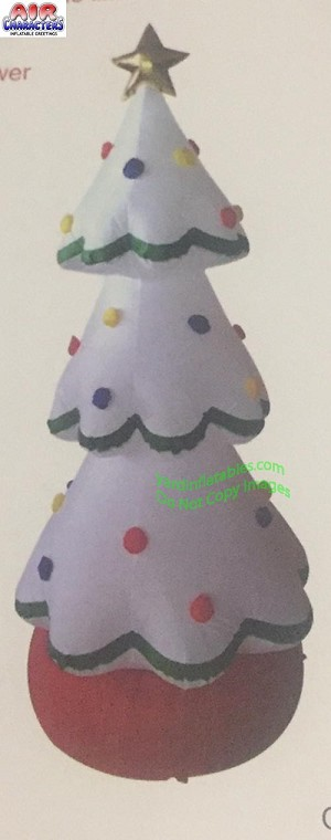20' Giant Inflatable White Christmas Tree