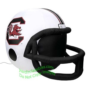 4' NCAA South Carolina Gamecocks Football Inflatable Helmet