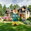 7' Air Blown Inflatable NHL Minnesota Wild Nordy Mascot