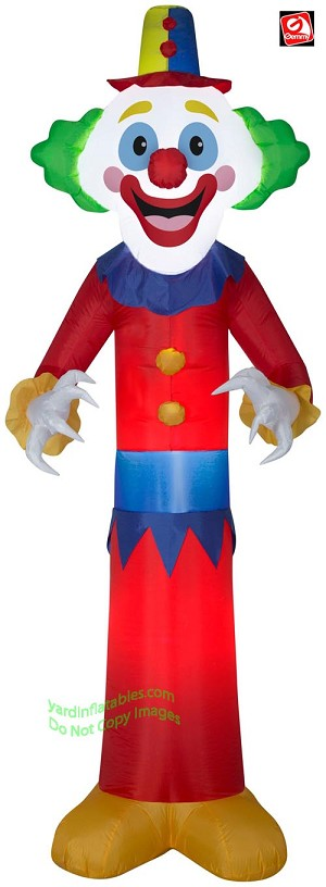 9' Airblown Inflatable Happy Clown