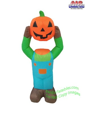 3 1/2' Pumpkin Head Boy