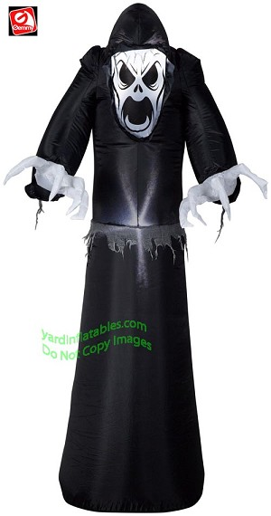 5' Airblown Inflatable Scary Grim Reaper