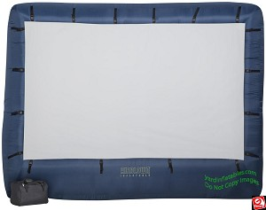 12' Gemmy Airblown Inflatable Movie Screen Original